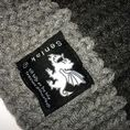 Senlak Chunky Scarf with Anglo-Saxon White Dragon logo